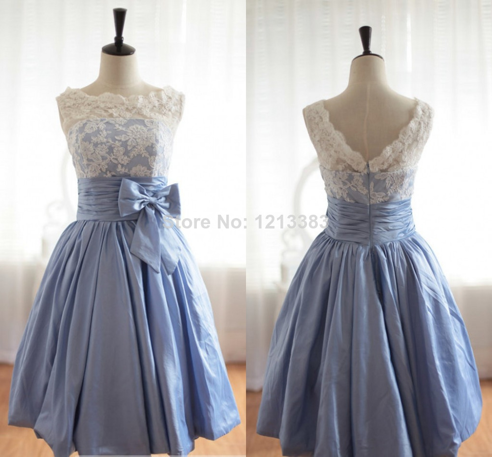 Aliexpress.com : Buy Fast Shipping Custom Open Back Grey Short Party Dresses White Lace Bow Tie Cheap Homecoming Dresses Real Made from Reliable dress style for boys suppliers on Clover Dresses