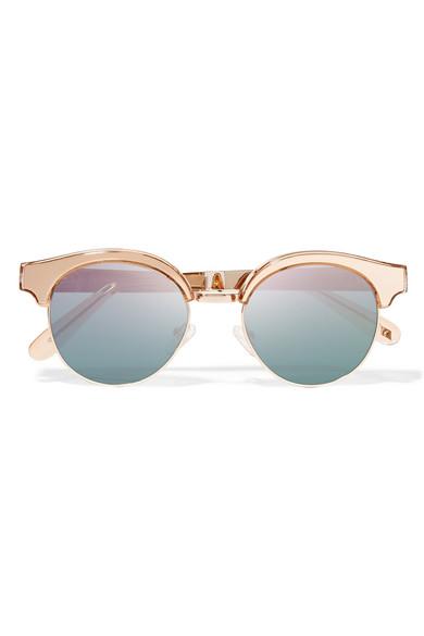 Le specs lunettes de soleil il de chat effet miroir en for Miroir des chats
