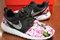 Nike roshe run black gamma azalea garden floral print v5 edition custom men