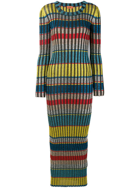 Missoni dress maxi dress maxi glitter women