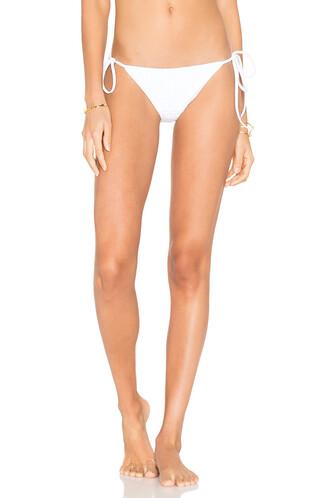 bikini string bikini white swimwear