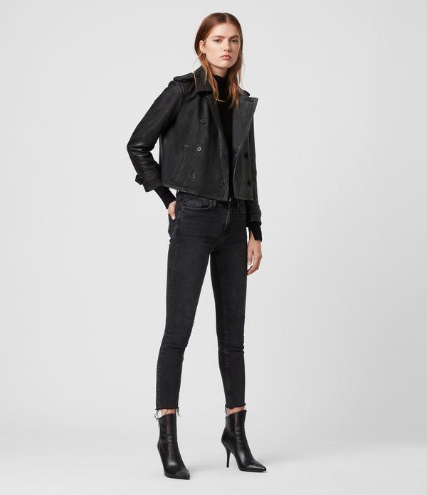 Trae Leather Jacket