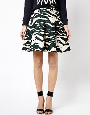 Whistles | Пышная юбка с принтом Whistles на ASOS
