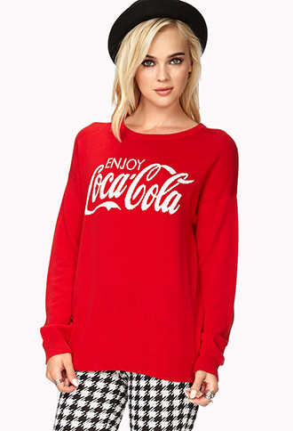Fresh Coca-Cola Sweater | FOREVER21 - 2040588046