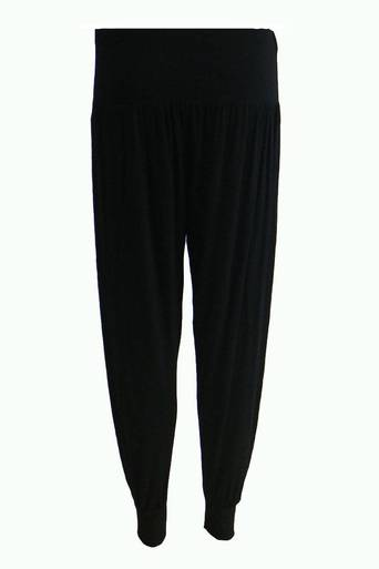 Frode Jersey Hareem Pant in Black - Pop Couture