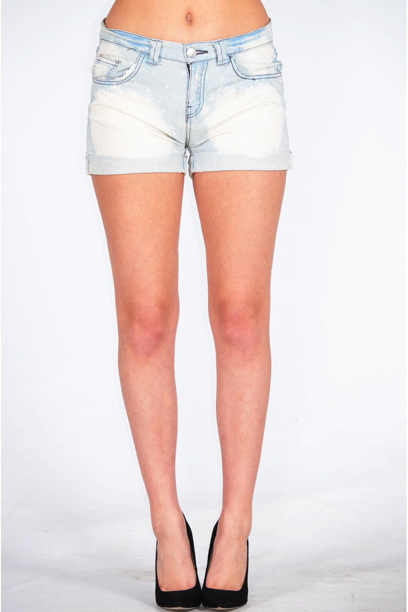 Gafna Bleach Washed Short