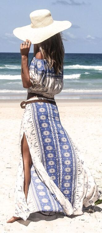 skirt shirt set maxi maxi skirt long skirt beach outfit country boho dress boho set hippie set country set summer summer set summer skirt two piece dress set country style boho chic boho dress hippie hippie chic hippie shirt hippie dress summer dress summer outfits summer top