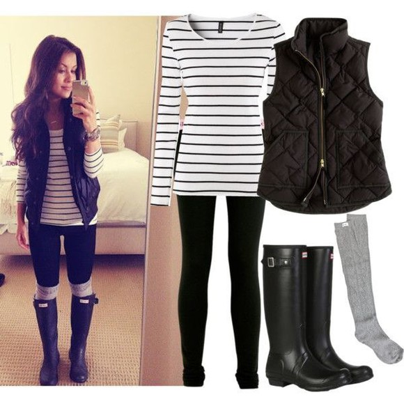 black and white striped shirt long sleeve shirt shoes coat