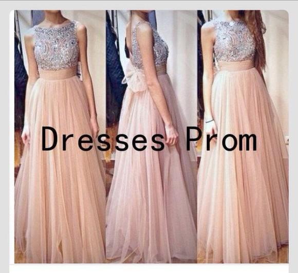 dress pink dress prom dress graduation dresses jewls sparkles sparkly dress
