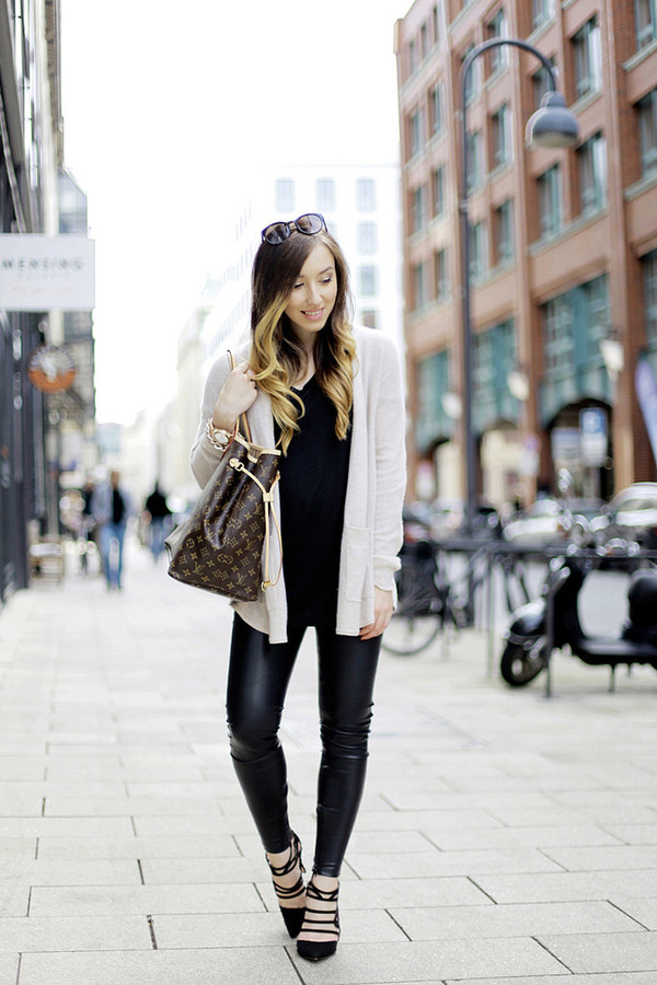 flirting with fashion blogger cardigan bag jewels
