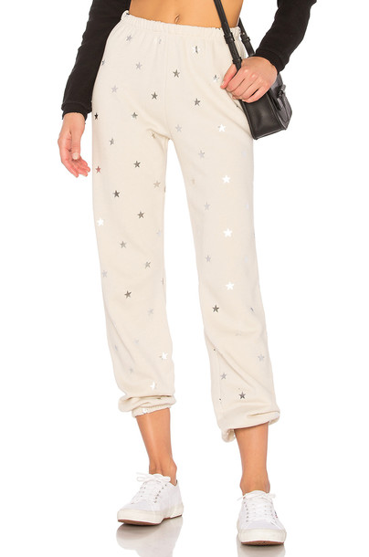 Wildfox Couture cream pants