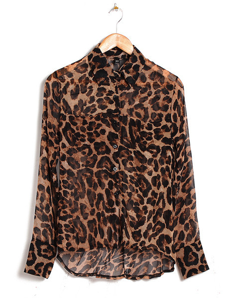Leo Leopard Print Blouse | Outfit Made