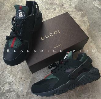 shoes huarache green green sneakers gucci huaraches red black gucci gucci shoes nike sneakers louis vuitton luxury