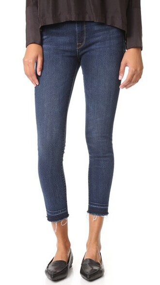 jeans cropped high