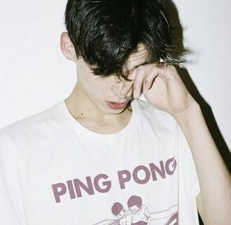 shirt pale soft grunge vaporwave palewave tumblr internet japanese japan seapunk t-shirt boy vapor wave