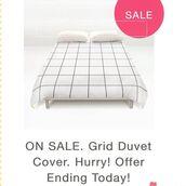 home accessory,grid duvet cover,famenxt,famenxtshop,duvets covers,grid,bedding,interior,tumblr