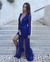dress,royal blue,royal blue dress,royal blue prom dress,blue dress,blue,maxi dress,maxi,prom dress,prom,prom gown,plunge v neck,plunge dress,plunge neckline,deep v,deep plunge,slit dress,side split,long dress,long prom dress,sexy,sexy dress,party dress,evening dress,long evening dress,luxury,style,stylish,pretty,women,girl,girly,blogger,sexy party dresses
