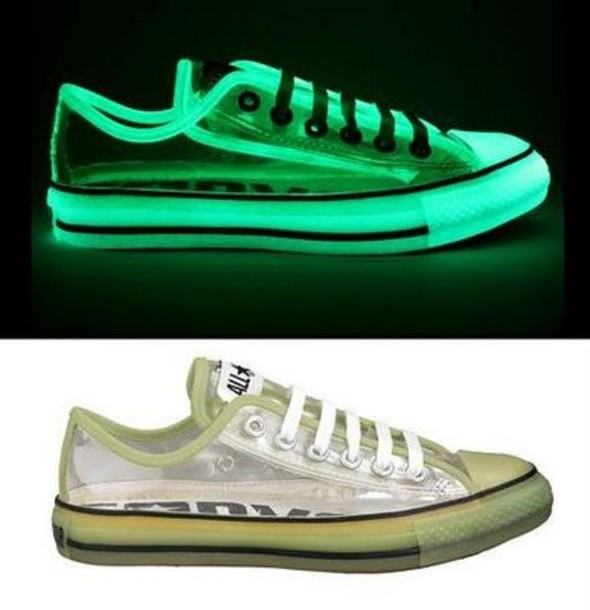 Clear Plastic Converse Shoes