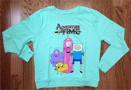 Adventure time french terry womens pullover sweatshirt