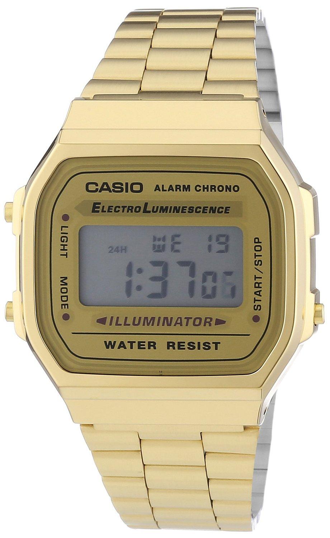Amazon Com Casio The Medium Digital Watch In Gold Casio