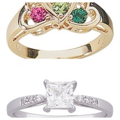 jewels,walmart,gold,diamonds,silver ring,gold ring,promise ring,promise,green,pink,clear,ring,engagement ring,fall wedding,winter wedding dress