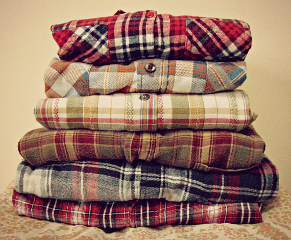 Salemystery flanneltop quality indie hipster by gypsiithrift