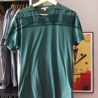 t-shirt burberry man tshirt