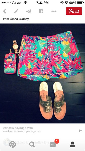 shorts cute shorts lilly pulitzer