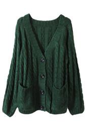 sweater,cardigan,dark green