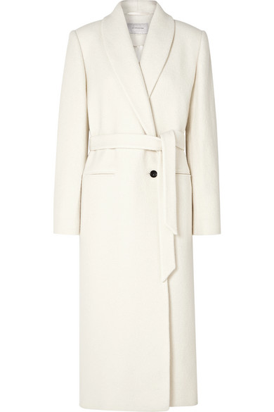 La Collection - Marcellina belted wool-bouclé coat