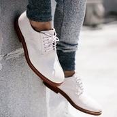 cotton,grey,grey sweatpants,menswear,mens shoes,white shoes,shoes