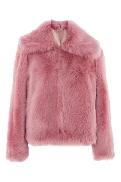 Topshop jacket pink