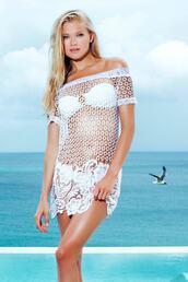 swimwear,cover up,luxury,white,womens sauvage,bikiniluxe