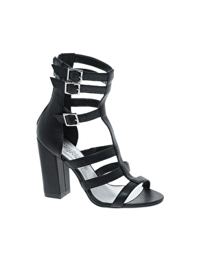 Look | New Look Opponent Gladiators Heeled Sandals at ASOS