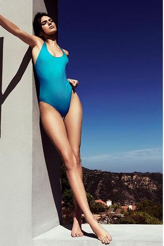 swimwear one piece swimsuit kendall jenner kardashians summer kendall + kylie label