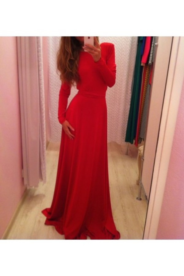 dress red dress maxi dress red maxi dress fashion style stylish fashion blogger blogger look of the day wiwt ootd shopaholic escloset instagram