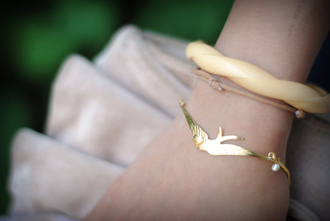bird bracelets precious leeloo jewels
