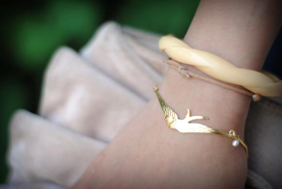 bird bracelets precious leeloo