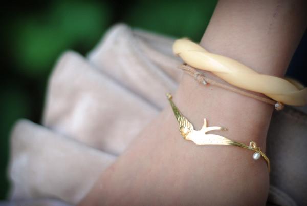birds bracelets precious leeloo jewels