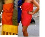dress,red dress,classy