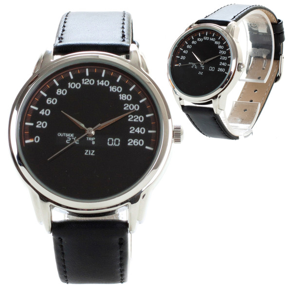 jewels watch watch leather watch cool watch designer watch unique watch unusual watch speedometer watch speedometer ziz watch ziziztime