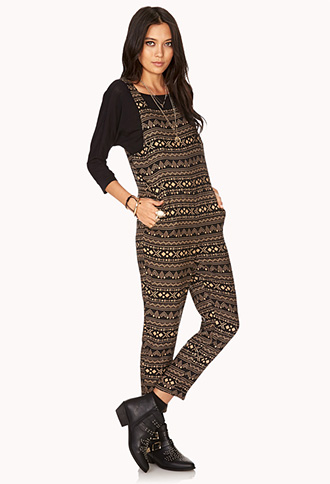 Day Trippin' Woven Jumpsuit | FOREVER21 - 2031557911