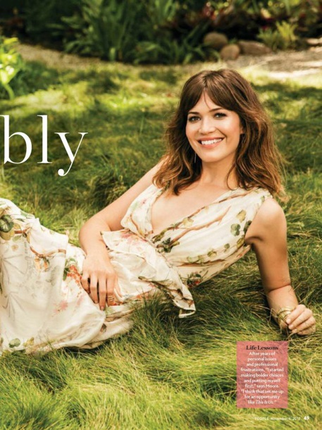 dress looking for this floral romantic dress mandy moore is wearing in the november issue of people magazi