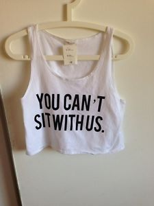 Brandy Melville You Can'T Sit with US Tank | eBay