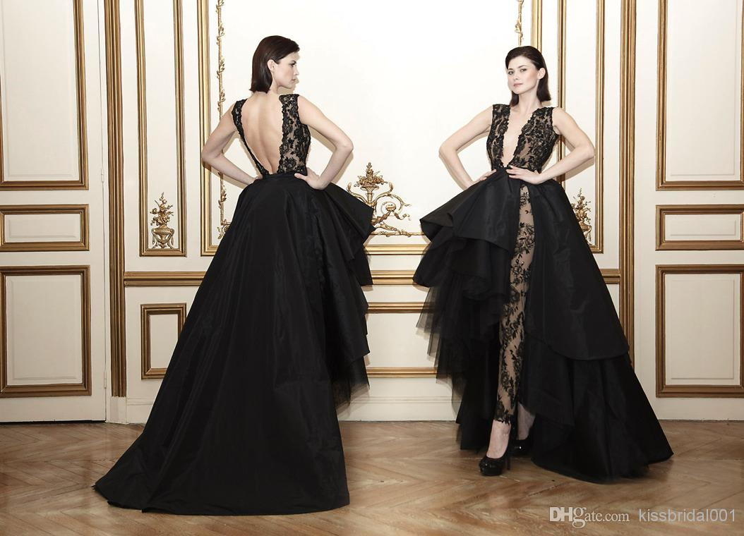 Discount attractive celebrity red carpet dresses lace applique ball online with $174.2/piece