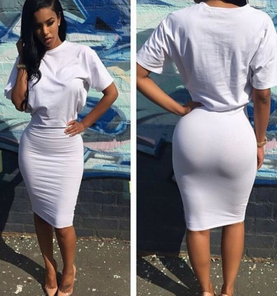 Tight tshirt images for Thick white shirt womens