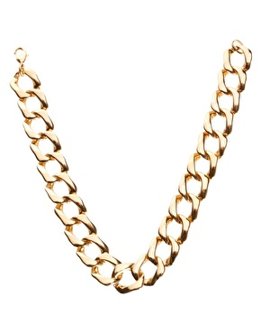 Gogo philip classic linked chain necklace at asos