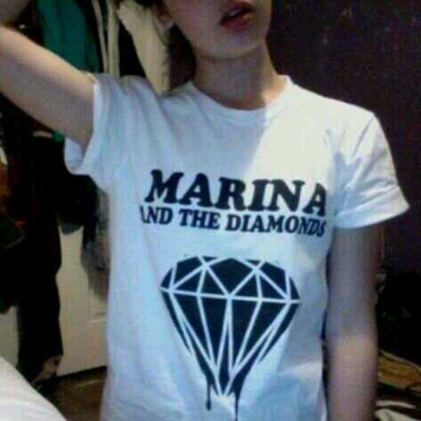 t-shirt marina and the diamonds