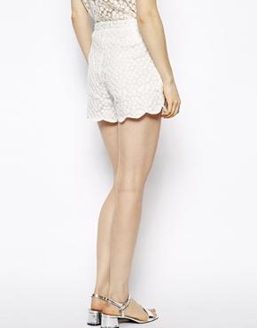 Little White Lies | Little White Lies Daisy Lace Shorts at ASOS
