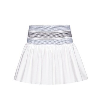 skirt cotton white